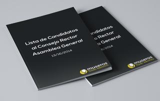 Lista de Candidatos al Consejo Rector Asamblea General 13-16-2014