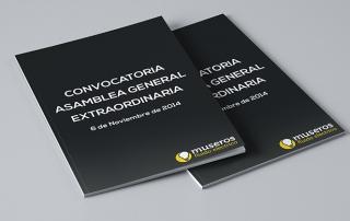 CONVOCATORIA ASAMBLEA GENERAL EXTRAORDINARIA 6 de Noviembre de 2014 museros fe